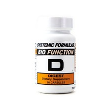 Systemic Formulas Bio Function D - Front
