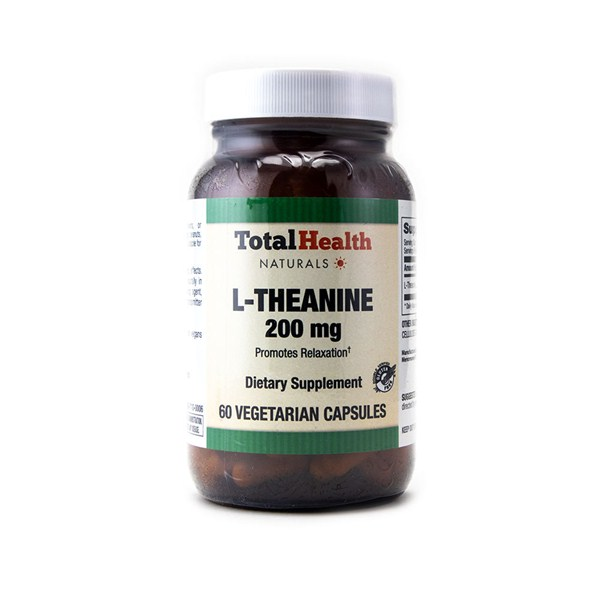 Total Health L-Theanine Relaxation Supplement 200mg