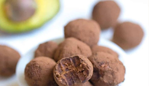 Image of Avocado Chocolate Truffles: A deviously delicious truffle, calling for heart-healthy avocado instead of dairy!